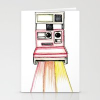 polaroid Stationery Cards featuring Polaroid by Ilariabp.art