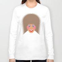 tina crespo Long Sleeve T-shirts featuring Greatest Tina by tuditees