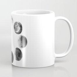 Moon Cycle Watercolor Coffee Mug