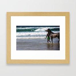 Solitude&TheMan Framed Art Print