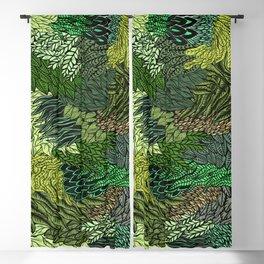 Leaf Cluster Blackout Curtain