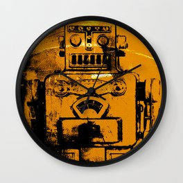 Radioactive Generation 8 Wall Clock