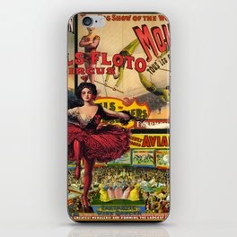 The Circus is in Town iPhone Skin