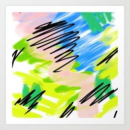 Colour Perform Art Print
