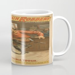 Vintage poster - The Great Train Robbery Coffee Mug