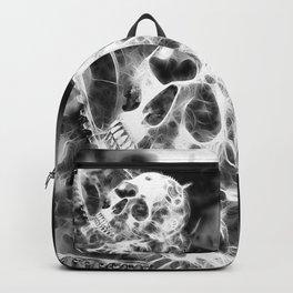 Zahn der Zeit - schwarz-weiß Backpack
