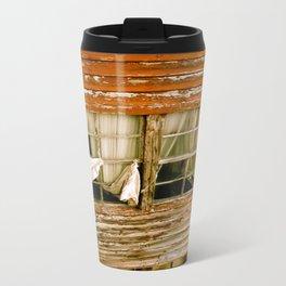 Weathered Wood Travel Mug
