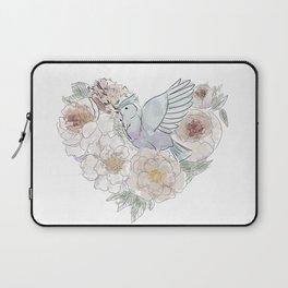 bird of paradise , paradisebirds , simple floral graphic design , gift for gardener Laptop Sleeve