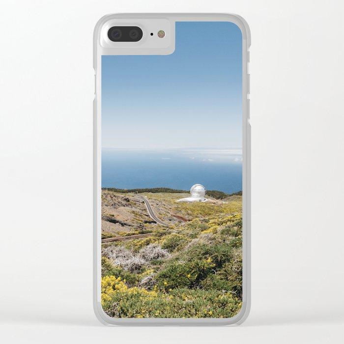 Roque de los Muchachos Astronomical Observatory. La Palma, Canary Islands. Clear iPhone Case