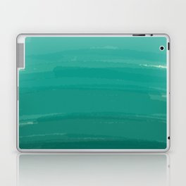 Sea Foam Dream Ombre Laptop & iPad Skin