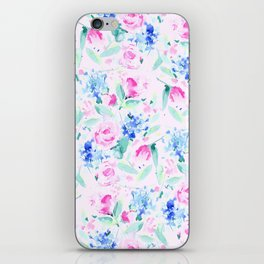Scattered Lovers Pink iPhone Skin