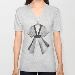 Kimono dress design Unisex V-Neck