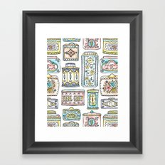 Tea Tins Framed Art Print