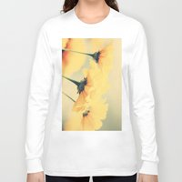 leah flores Long Sleeve T-shirts featuring Flores by Irène Sneddon