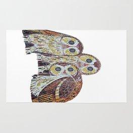 Three Owls - Art Nouveau Inspired by Klimt Rug