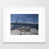 bow Framed Art Prints featuring bow by Brandon Pasowicz