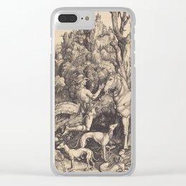 Albrecht Durer - Saint Eustacel. Clear iPhone Case
