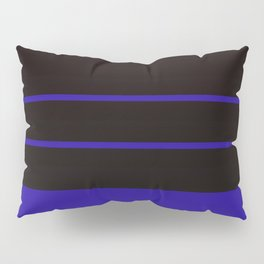 Blue Stripes Pillow Sham