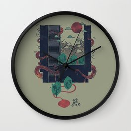 A World Within Wall Clock