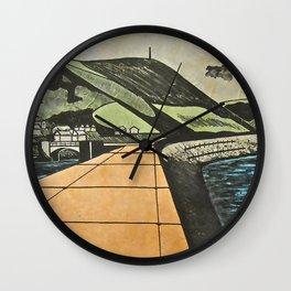 Fortified Headland, Aberystwyth Wall Clock
