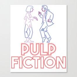 Pulp Fiction - Dance Canvas Print