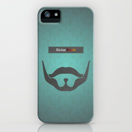 Sirius Black (Famous mustaches and beards) iPhone Case