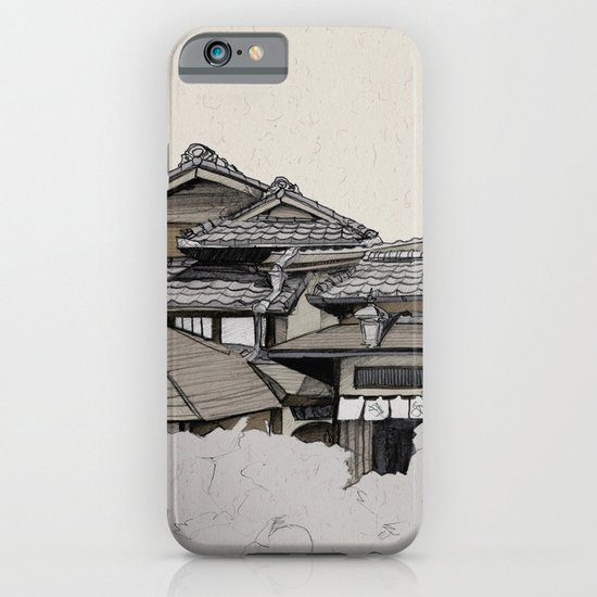Vintage Gion iPhone & iPod Case