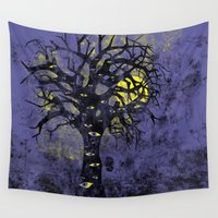 lsd Wall Tapestries featuring the Vison Tree by Jonah Makes Artstuff