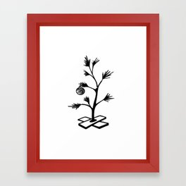 Little Tree Framed Art Print
