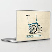 brompton Laptop & iPad Skins featuring Brompton Bike by Wyatt Design