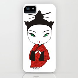 Geisha. iPhone Case