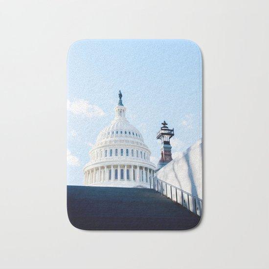 Our Nations Capitol Bath Mat