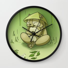 the trader's spirit Wall Clock