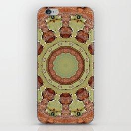 Rust-Mandala 712_R_2, Colors of Rust iPhone Skin