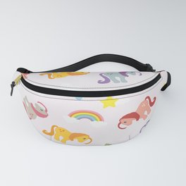 Rainbow Ponies Fanny Pack