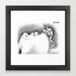 CORNELIUS Frog Prince Print Framed Art Print