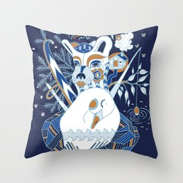 My Finland Throw Pillow