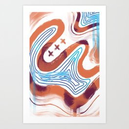 Centre of the Universe Art Print