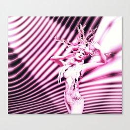 Lili Burlesque Canvas Print