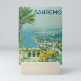 affisso Sanremo ENIT Mini Art Print