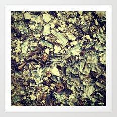 Disintegrate. Art Print