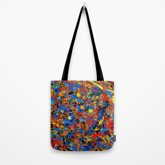 Abstract #744 Veronica Tote Bag