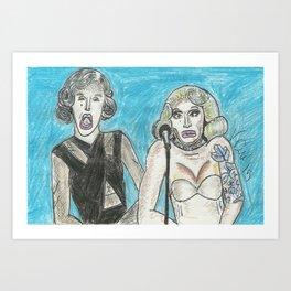 GURRRRL Art Print