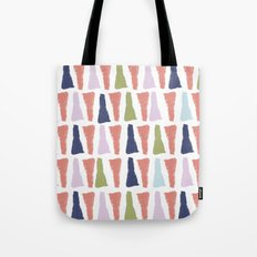 PAINT TRIANGLES Tote Bag
