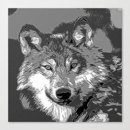 Wolf20151104 Canvas Print