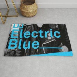 DJ Electric Blue / Pray for Taiwan Rug