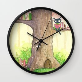 In the tree Wall Clock