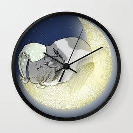 Good Night Little Pinto Wall Clock
