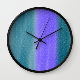 Delusional Lines Wall Clock