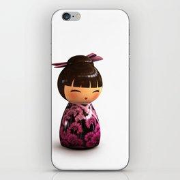Kokeshi 05 iPhone Skin